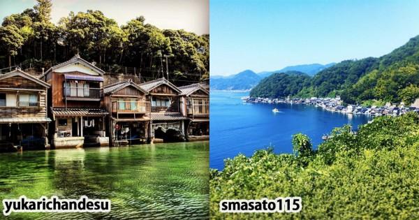 これぞ日本のベネチア!京都の海に浮かぶ街「伊根の舟屋」に旅したい