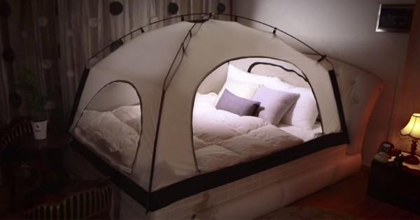 こたつより危険!ベッドに付ける暖房用テントが快適過ぎてヤバい