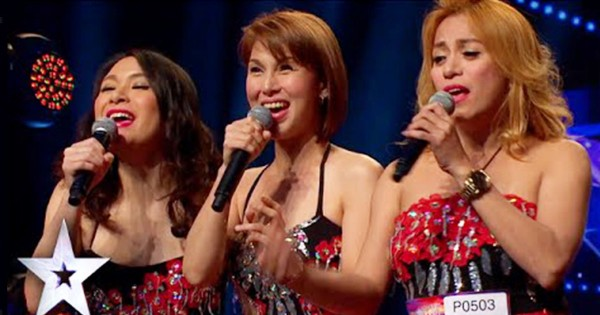 アジアのオーディション番組で女性3人組のパフォーマンスに会場が驚きの大喝采!