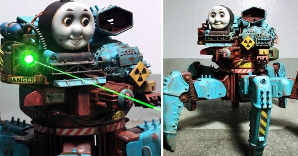 【機関車トーマスがとんでもないことに】あなたの知らない謎の技術15選