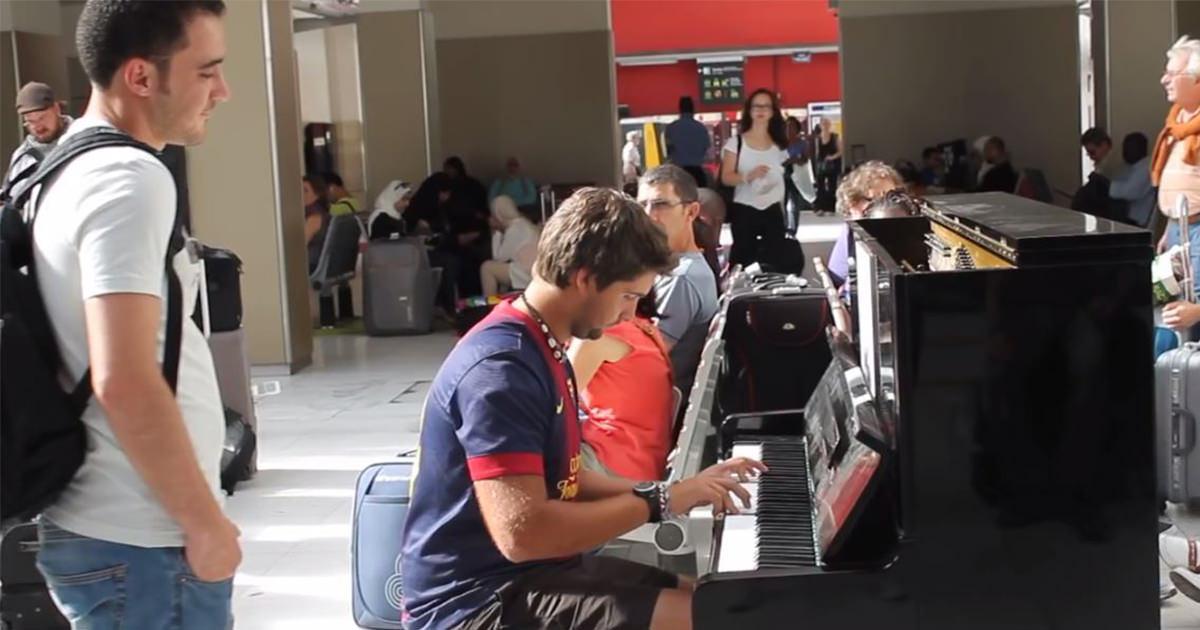 ピアノ 即興コラボ1
