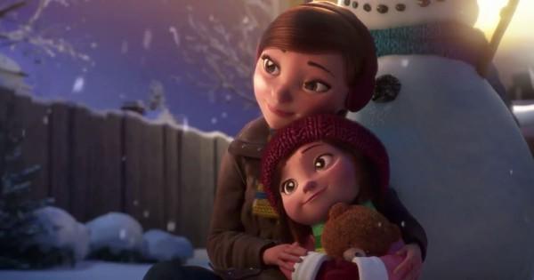 忙しい人に見てほしい!冬の夜に起こった女の子と雪だるまの心温まる物語