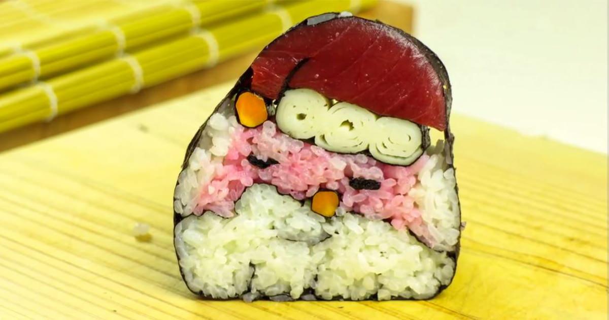 サンタ寿司4 (1)