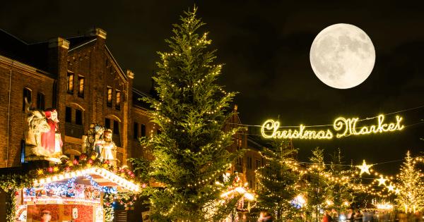 コレを逃したら次は19年後!今年のクリスマスは38年ぶりに満月が見える!