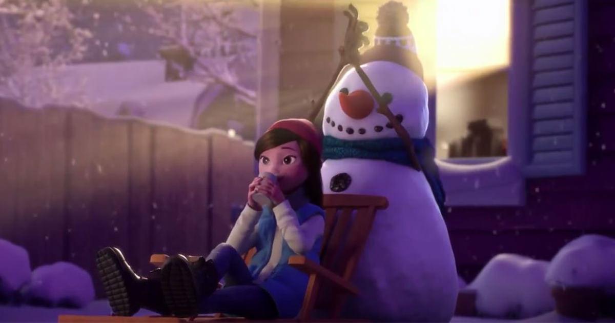 魔法の雪だるま2 (1)