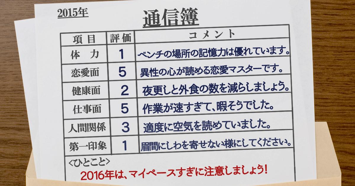 通信簿14