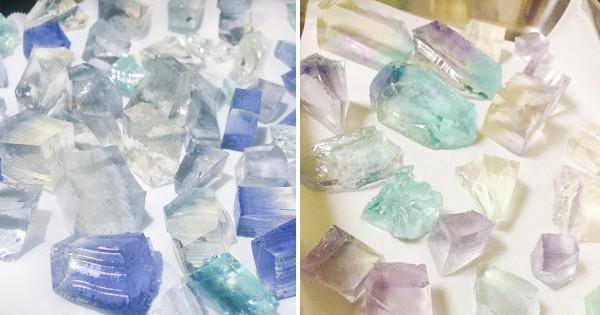 食べられる宝石?! 話題沸騰中の「琥珀糖」がお家で簡単に作れるらしい!