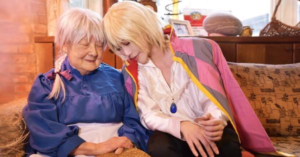 ご本人登場レベル!おばあちゃんと孫の「ハウルの動く城」コスプレにほっこり