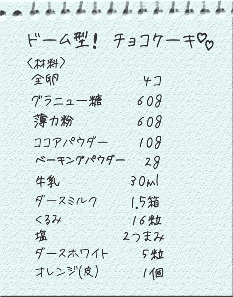チョコケーキメモ (1)