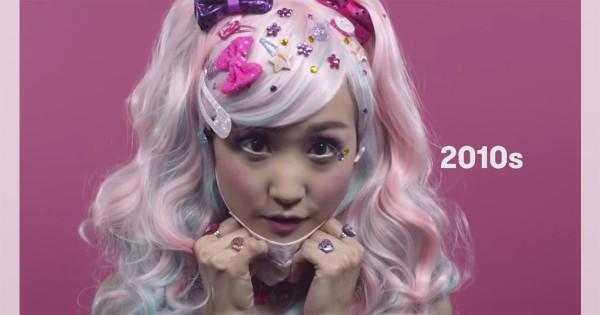 伝統から流行まで!日本女性の100年の移り変わりが興味深い(動画)