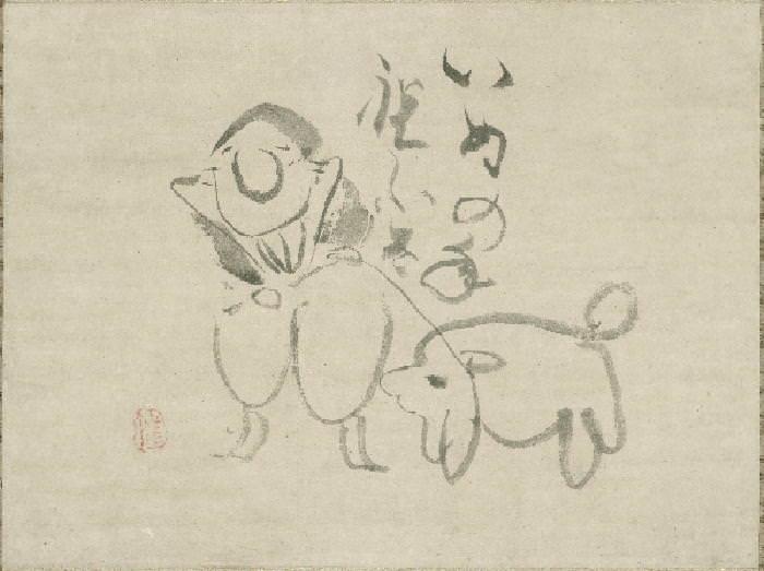 日本画 ゆるふわ11