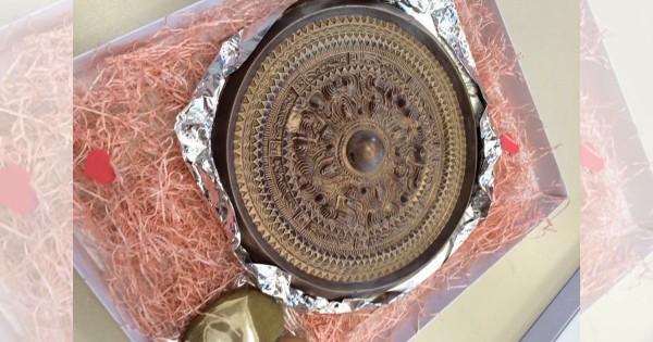 歴史的大発見気分も味わえる「三角縁神獣鏡チョコ」ワークショップにコーフン