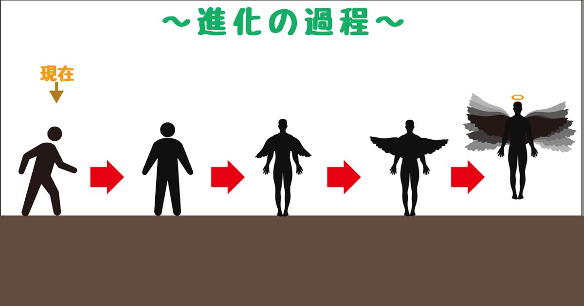 進化−天使