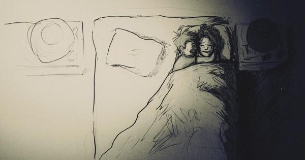 【一日一日深まる愛】妻との生活を365日休むことなく描いた幸せのスケッチ