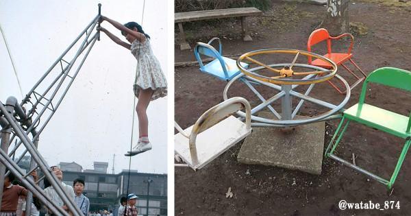 子供の頃よく遊んだ!今となってはちょっと怖い「公園の遊具」15選