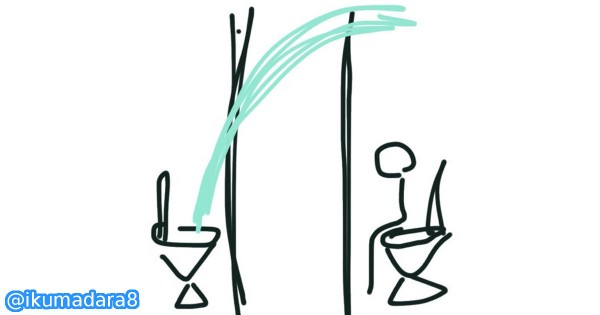 【向かいの個室からウォシュレット噴水】トイレで起きた爆笑ハプニング12選