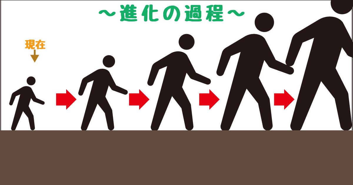 進化−巨大