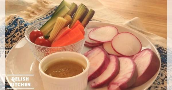 オシャレ料理を自分でも作りたい!簡単バーニャカウダソースの簡単レシピ☆