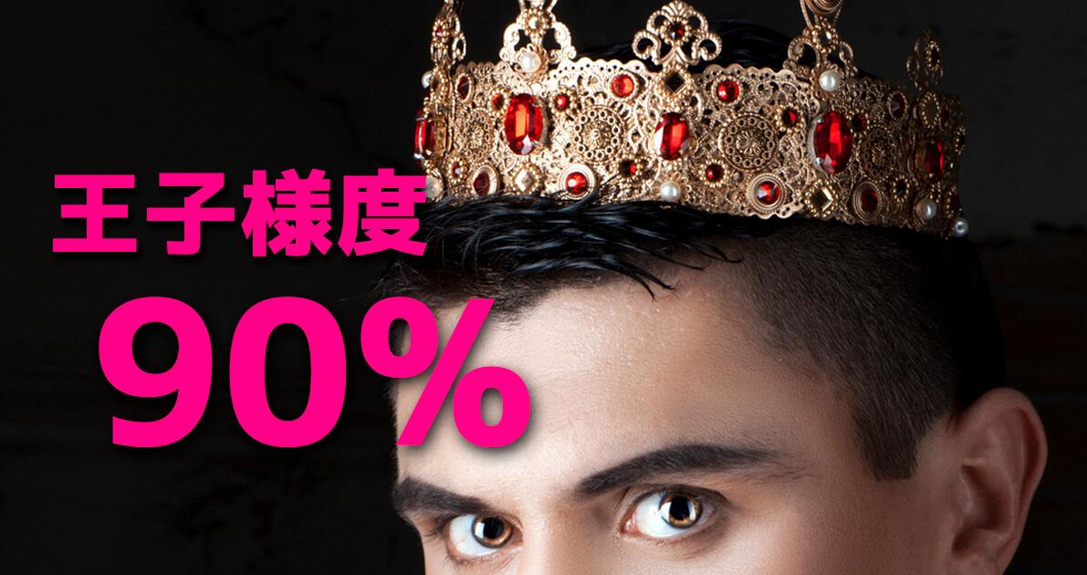 王子様度10