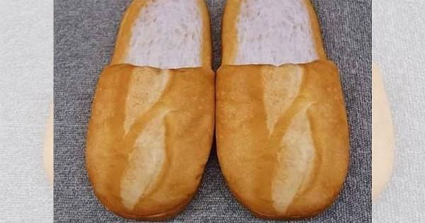 ごくり パンにしか見えない『スリッパン』誕生