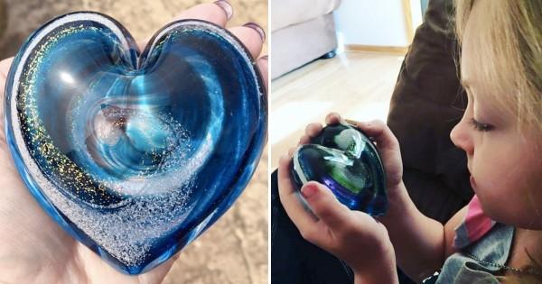 愛する人を忘れない!遺灰をガラス細工にする最新の保存方法がとっても美しい