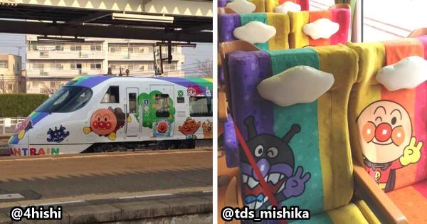 子どもを連れて乗るしかない!新型「アンパンマン列車」の公開に親子連れ大歓喜