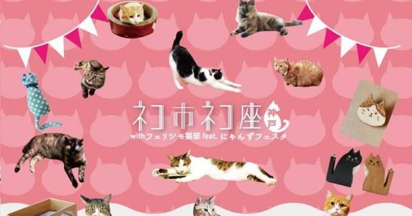 猫好き全員集合! 会場全て猫づくしの「ネコ市ネコ座」に猫のご主人歓喜