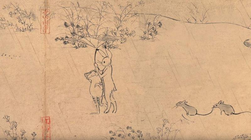 鳥獣戯画ジブリ12_R
