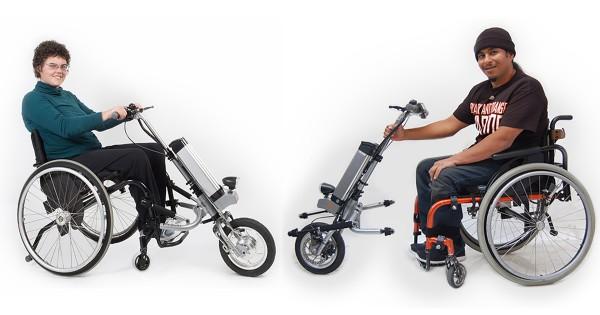 【生活の幅が広がる】車いすを一瞬で電動自転車に変えるアイデアが画期的