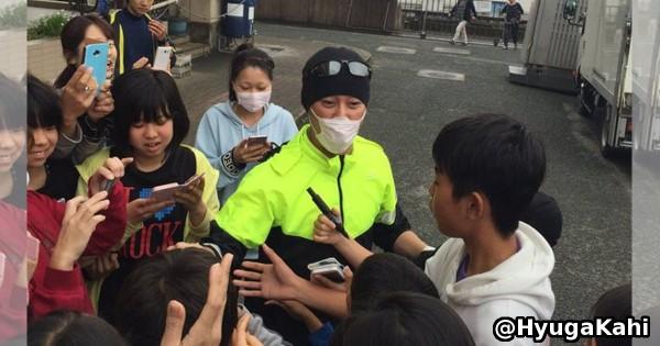SMAP中居正広さんが熊本に登場!炊き出しとスターのオーラで被災地を元気に