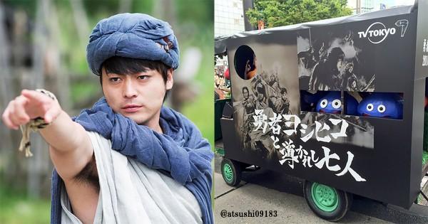 山田孝之主演「勇者ヨシヒコ」が4年の時を経て復活!告知馬車の登場に新宿が熱狂