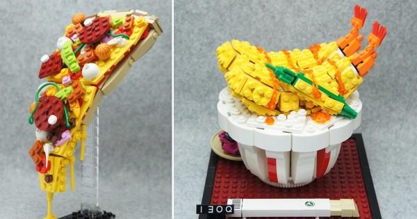 レゴでピザを完全再現!日本人レゴアーティストの作品に海外が大注目