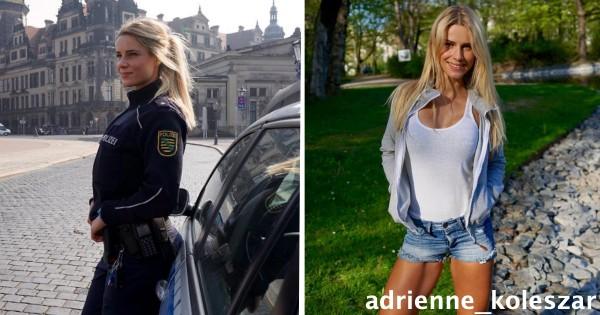モデルさんじゃないの?! 美人すぎると話題の女性警察官、脱いだらもっとスゴかった!
