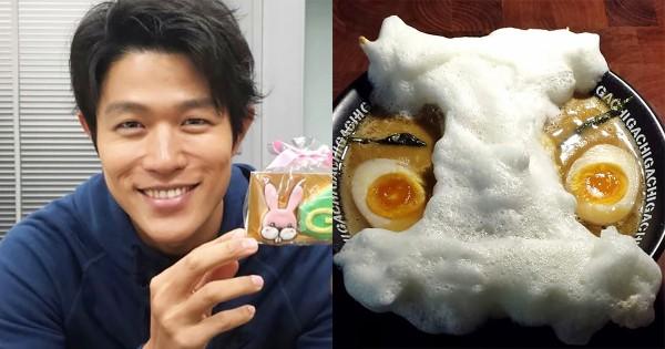 「変態仮面」鈴木亮平の食レポが話題!おいなりさん入りラーメン「変態仮麺」を実食