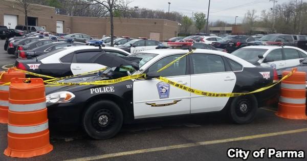 こんな警官うちの町にも欲しい!厳重に守られたパトカー、その理由が可愛すぎた