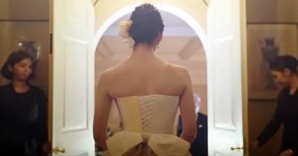 思い出の詰まった洋服で、ウエディングドレスを制作!父親に感謝を伝える動画が話題