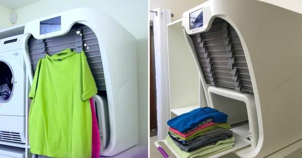 「自動洗濯物畳み機」の登場に世界が興奮!これで家事が5倍楽になると話題に