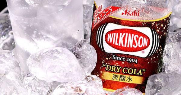 透明なのにコーラの香り?ウィルキンソンのドライコーラが気になる!