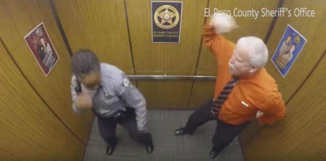 エレベーター ダンス2