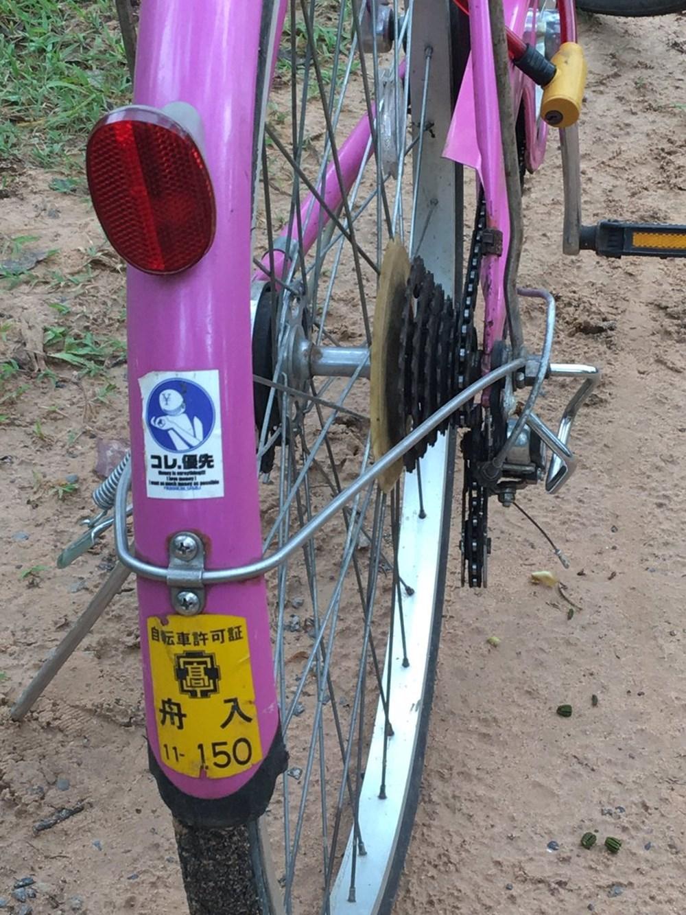 Twitterってスゴイ…日本で消えた自転車、遠く離れたカンボジアで発見される