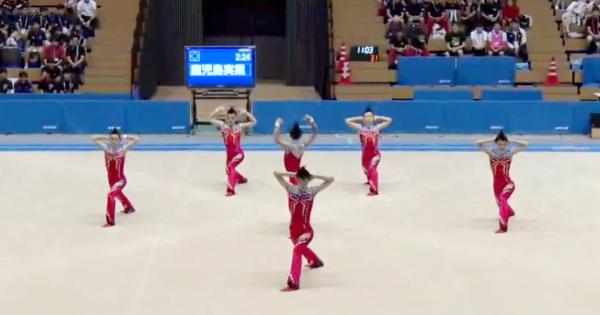 「はいてますよ」からライザップまで!鹿実の男子新体操部が今年も最高の演技を披露