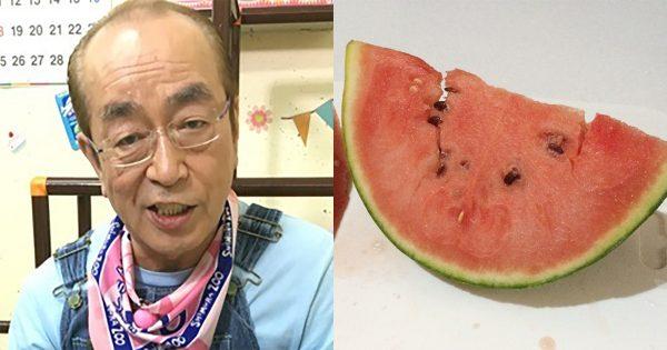 【ネタバレ】衝撃事実!志村けんの「スイカ早食い」には仕掛けがあった