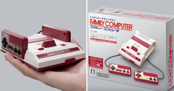 ついに日本でも発売決定!ファミコンが「手のひらサイズ」になって現代に舞い戻る