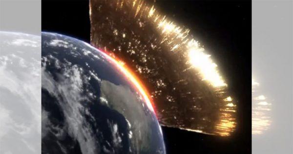怖すぎるシミュレーション! 小惑星が地球に落下したらかなりヤバい…