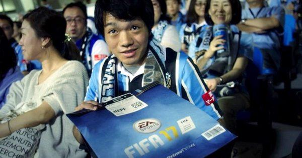 え!本当に!?ゲームを観客席までお届け!「FIFA 17 スタジアムデリバリー」にサッカーと配達の未来を見る