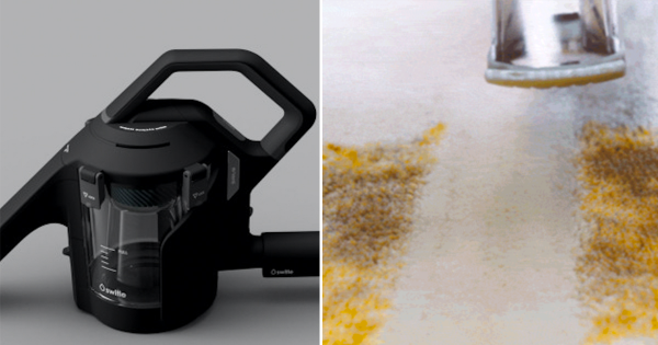 コーヒーも醤油も「吸い取る」!液状汚れを見事に処理するマシンに主婦歓喜