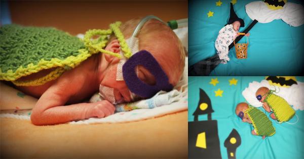 病院の粋な計らい!「新生児のハロウィン撮影会」が最高の記念になりそう🎃