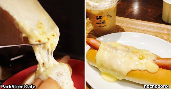 チーズ好きホイホイ!見たら最後、ヨダレが止まらなくなる「ラクレットチーズドッグ」
