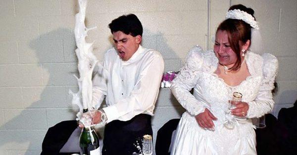 ある意味一生忘れない!? 結婚式で起こってしまた珍事に腹筋よじれる15選