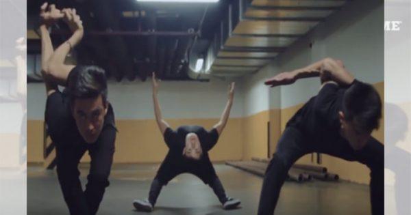 """その身体は変化自在! 世界で注目を浴びる男性三人の""""柔軟ダンス""""がヤバい"""